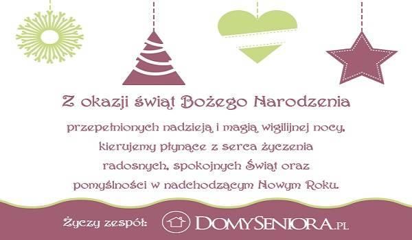Magicznych świąt Bożego Narodzenia Domyseniorapl